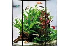 Шестигранный аквариум