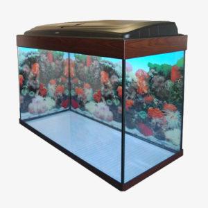 Прямоугольный аквариум на 160 литров