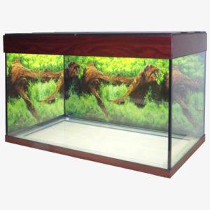 прямоугольный аквариум на 140 литров